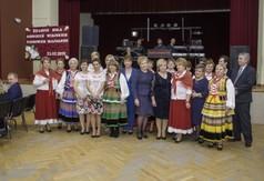 Na zdjęciu uczestnicy uroczystości 50-lecia Koła Gospodyń Wiejskich z Popkowic - Majdanek.
