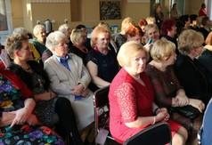 Na zdjęciu zaproszeni goście podczas Dnia Kobiet.