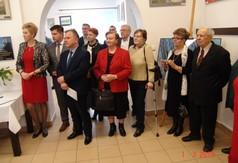 Na zdjęciu Starosta Kraśnicki Krzysztof Staruch, Wójt Gminy Zakrzówek Józef Potocki, Dyrektor GDK w