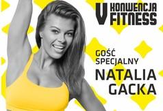 Plakat Natalii Gackiej gościa specjalnego V Konwencji Fitness.