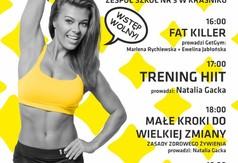 Plakat V konwencji Fitness.
