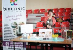 Stoisko promocyjne firmy Bioclinic