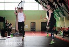 Trenerki prowadzące zajęcia fitness - Marlena Rychlewska i Ewelina Jabłońska