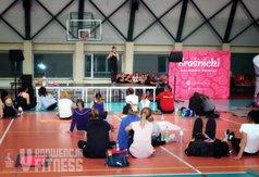 Natalia Gacka oprócz ćwiczeń zafundowała obecnym na konwencji szybki kurs zdrowego odżywiania. Na zd