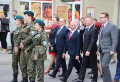 Na zdjęciu od prawej Wicestarosta Kraśnicki Karol Rychlewski, członek Zarządu Powiatu w Kraśniku Tom