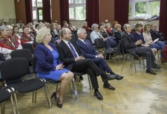 Na zdjęciu publiczność 53. Ogólnopolskiego Przeglądu Kapel i Śpiewaków Ludowych w Kazimierzu.