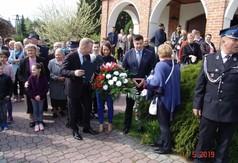 Na zdjęciu członek Zarządu Powiatu Kraśnickiego Tomasz Mularczyk oraz kierownik Wydziału Edukacji i