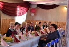 Na zdjęciu uczestnicy jubileuszu 15- lecia istnienia Klubu Seniora z Gościeradowa.
