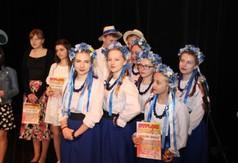 Na zdjęciu zespół Błękitne Korale podczas XX Powiatowego Przeglądu Twórczości Artystycznej Przeds