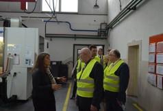 Wizyta delegacji z Kanady w Przedsiębiorstwie Produkcyjno-Wdrożeniowym Nabor.