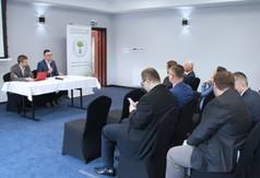 """Uczestnicy Konferencji """"Nowe Technologie – Czyste Powietrze""""."""