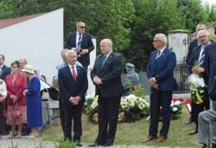 Na zdjęciu Marszałek Województwa Lubelskiego Jarosław Stawiarski, Starosta Kraśnicki Andrzej Rolla o