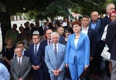 Na zdjęciu uczestnicy uroczystości Święta 24 Pułku Ułanów w Kraśniku.