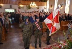 Na zdjęciu uczestnicy uroczystości podczas mszy św. zorganizowanej z okazji Dnia Walki i Męczeństwa