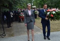 Na zdjęciu od lewej Anna Baluch Z-ca Dyrektora KOWR w Lublinie i Kazimierz Choma Dyrektor KOWR w Lublini