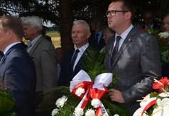 Na zdjęciu Starosta Kraśnicki Andrzej Rolla oraz Wicestarosta Kraśnicki Karol Rychlewski.