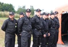 Na zdjęciu drużyna OSP
