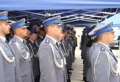 Na zdjęciu policjanci.