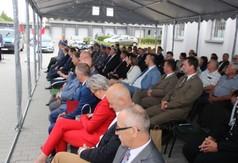 Na zdjęciu zaproszeni goście na Święto Policji w Kraśniku.