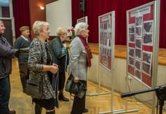 Wystawa poświęcona wieczornicy poświęconej 80 rocznicy wybuchu II wojnie światowej.