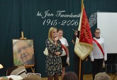 Na zdjęciu Dyrektor Zespołu Szkół Specjalnych w Kraśniku Anna Stolarska.