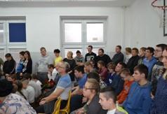 Na zdjęciu uczniowie z Zespołu Szkół Specjalnych w Kraśniku.
