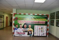 Plakat II Charytatywny Turniej w Siatkonogę