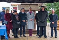 Na zdjęciu Poseł na Sejm RP Kazimierz Choma, Radna Sejmiku Województwa Lubelskiego Anna Baluch, Staros