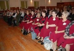 Na zdjęciu publiczność Powiatowego Przeglądu Kolęd, Pastorałek i Zespołów Kolędniczych.