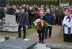 Starosta Kraśnicki Andrzej Rolla , członek Zarządu Powiatu w Kraśniku Roman Bijak oraz Radny Rady Pow