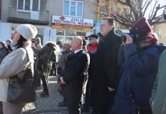 Na zdjęciu Starosta Kraśnicki Andrzej Rolla, Dyrektor ZS nr 1 w Kraśniku Piotr Miecznikowski,a także