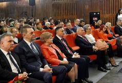 Na zdjęciu Poseł na Sejm RP Kazimierz Choma,Radna Sejmiku Województwa Lubelskiego Anna Baluch, Starost