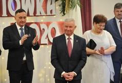 Na zdjęciu od lewej Poseł na Sejm RP Kazimierz Choma, Starosta Kraśnicki Andrzej Rolla, Wicedyrektor Z