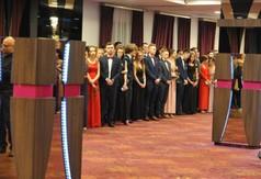 Na zdjęciu przyszli maturzyści z ZS nr 1 w Kraśniku.