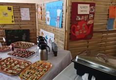 Przekąski sporządzone przez uczniów z SOSW w Olbięcinie