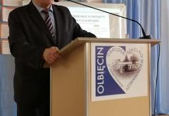 Na zdjęciu Dyrektor SOSW w Olbięcinie Zbigniew Wilkołek