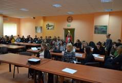Na zdjęciu uczniowie z ZS nr 3 w Kraśniku.
