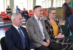 Od lewej Starosta Kraśnicki Andrzej Rolla, Poseł na Sejm RP Kazimier Choma, Radna sejmiku Województwa