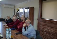 Przedstawiciele KIG Prezes Wiesław Michałowski, Wiceprezes Adam Staniec,członek Zarządu KIG Robert Ko