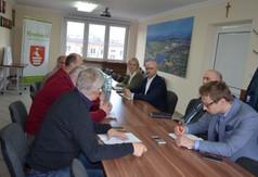 Przedstawiciele z Departamentu Gospodarki i Wspierania Przedsiębiorczości z Urzędu Marszałkowskiego G