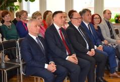 Starosta Kraśnicki Andrzej Rolla, Poseł na Sejm RP Kazimierz Choma, Burmistrz Miasta Kraśnik Wojciech
