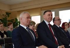 Starosta Kraśnicki Andrzej Rolla, Poseł na Sejm RP Kazimierz Choma.