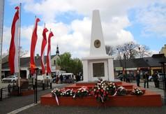 Pomnik Józefa Piłsudskiego w Kraśniku.
