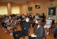 Uczestnicy konkursu ekologicznego Ekologia w obiektywie