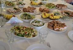 Potrawy przygotowane na zakończenie kursu Dieta pełna życia