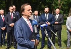 Marszałek Województwa Podkarpackiego Władysław Ortyl.