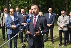 Wicemarszałek Województwa Lubelskiego Michał Mulawa.