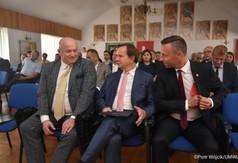 Od lewej Marszałek Województwa Lubelskiego Jarosław Stawiarski, Marszałek Województwa Podkarpac