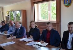 Spotkanie w sprawie Strategii Rozwoju Województwa Lubelskiego na lata 2021-2027. Władze powiatu, b