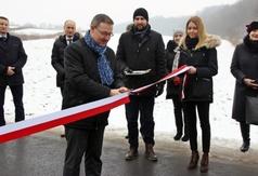 Oficjalne otwarcie drogi Słodków Drugi - Szastarka.